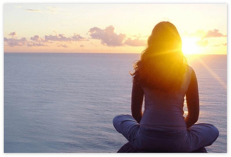 изображение осознанного образа жизни - как можно побыть в тишине