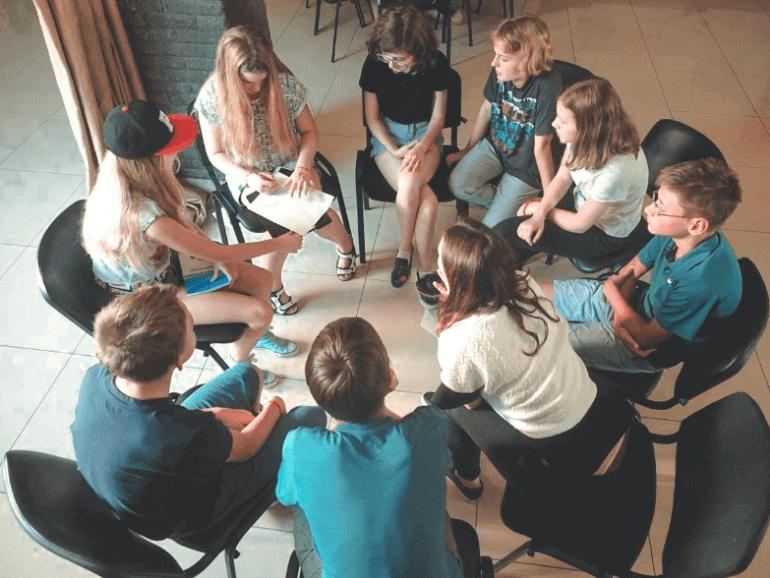 Изображение групповой генерации идей
